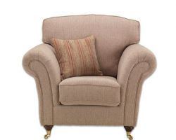 Sandringham Chair Stripe Mink